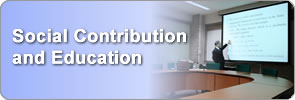 Social Contribution and Education